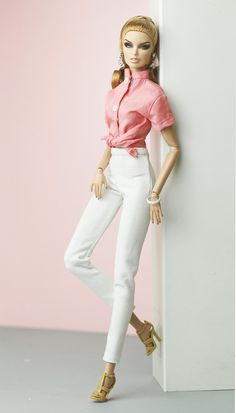 Barbie Top, Barbie Dress, Fashion Royalty Dolls, Fashion Dolls, Barbie Fashionista Dolls, Romper Pattern, Doll Clothes Barbie, Poppy Parker, Barbie Accessories