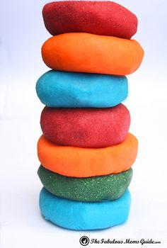 Easy peasy play dough recipe