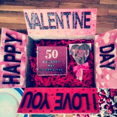 valentine's day gift box diy