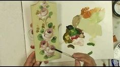 Hindeloopen Lessons- A Palette of Flowers Book Video 2 - YouTube