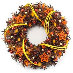 Christmas Wreaths – Christmas Wreath, Natural Wreath, Pinecone wreath – a unique product by Zielonepalce on DaWanda