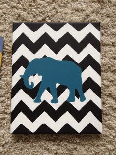 Cute Dorm Room Idea! - Now if the background could be black and white houndstooth with a crimson elephant it would be perf for my Roll Tide dorm!