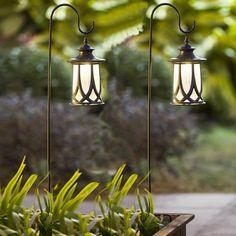Solar Hanging Lanterns, Solar Lamp, Solar Lights, Solar Pathway Lights, Landscape Lighting, Outdoor Lighting, Solar Light Crafts, Diy Solar, Cool Floor Lamps