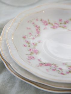 Antique Pink Roses in garlands and swags are used in all sorts of antique china patterns that mix and match well with all Antique Pink Rose patterns. ~MWP, - Shabby Chic Decor | Home Decor Accessories & Furniture Ideas for Every Room | HGTV
