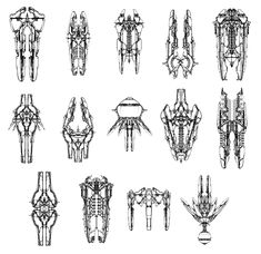 Nexus Sketches from Mass Effect: Andromeda