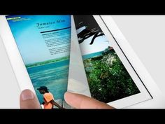 """From reading a magazine to helping your business run smoothly, you can do just about anything on iPad. And with Retina display, it's all more beautiful than ever."""