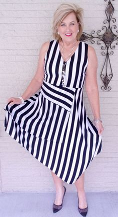 50 IS NOT OLD   I AM SEEING STRIPES EVERYWHERE   FASHION OVER 40