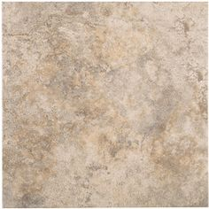 Style Selections�12-in x 12-in Capri Natural Thru Body Porcelain Floor Tile (Actuals 12-in x 12-in)