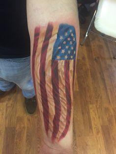 American Flag Tattoo Merica