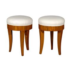 Pair of French Stools | From a unique collection of antique and modern stools at https://www.1stdibs.com/furniture/seating/stools/