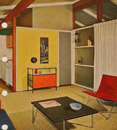70s colorful interior home decor home fashion - 70s Home Design