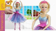 Barbie muñeca Bailarina Giros Mágicos - juguetes barbie toys - Barbie T...
