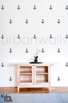 Vinyl Wall Sticker Decal Art - Anchors. $35.00, via Etsy.