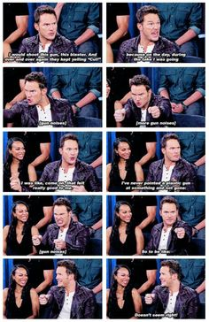 Chris Pratt, keeping it real