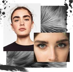 Make up moodboard - Thick eyebrows trend Eyebrow Trends, Thick Brows, Mood Boards, Eyebrows, Make Up, Movie Posters, Brows, Maquillaje, Bushy Eyebrows