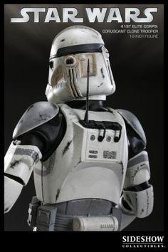 Sixth Scale Figure - Coruscant Clone Trooper #2161