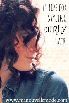 The BEST Tips for Styling Curly Hair