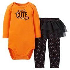 Newborn Girls' Just One You™ Made by Carter's® 2pc Im So Cute Set - Wildcat Orange