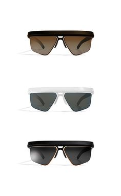 sunglasses / concept inspired by Mykita / 2015 / designed by CODE Design Trending Sunglasses, Men's Sunglasses, Glasses Style, Aircraft Design, Geometric Shapes, Eyewear, Frames, 3d, Watches