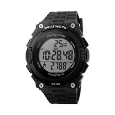 This is the most recent Skmei 1112 Style Sports See with the current functions like PEDOMETER for healthy lifestyle  50M Water resistance LED Light Alarm system Stop-watch.  It has a beautiful digital display screen with 12/24hr, reduced power data storage space, el light functions. Look Smart using this useful flashy watch.   #AYKA Solutions SKMEI #DG 1112s #Skmei