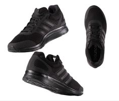 d5bf313b3 adidas Originals Mana Bounce Black Running Shoes for Men B42431 Brand New  Boxed