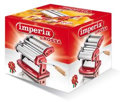 Imperia in versione La Rossa ovvero, laccata rosso Ferrari.