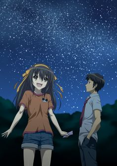 anime: haruhi suzumiya and kyon