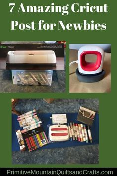 7 Amazing Cricut Post for Newbies   Primitive Mountain Quilts and Crafts Spring Projects, Diy Projects, Cricut Christmas Ideas, Cricut Htv, Summer Ideas, Sign Design, Cricut Ideas, Fall Decor, Primitive