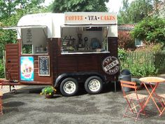 Food Inspiration  Horse trailer conversion  food truck