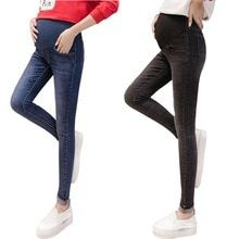 2955ff749 ... de maternidad. Ver más. New Maternity jeans cotton elastic waist jeans  for pregnant tight skinny pregnant women pantalon embarazada pregnancy