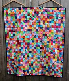postage stamp quilt - at Wombat's Picnic (one of last years participants)