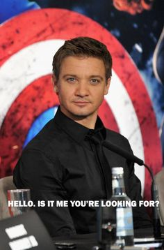 Jeremy Renner's back in The Game :)