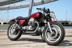 #MotoGuzzi V1000 Convert Officine Rossopuro Idro