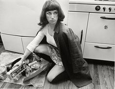 cindy sherman | Cindy Sherman, Untitled Film Still #7, 1978, Gelatin silver print 9 1 ...