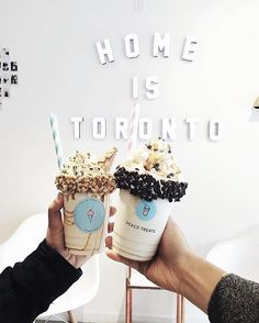 This I really love this home to Toronto just coming with a friend just a small delighted drink