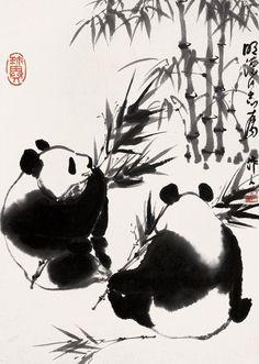 Wu Zuoren 吴作人 (1908-1997)    24462_394499087314608_729232190_n.jpg (684×960)