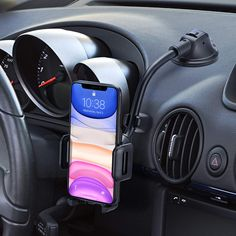 Mpow Car Phone Mount, Dashboard Windshield Car Phone Holder with Long Arm, Strong Sticky Gel Suction Cup, Anti-Shake Stabilizer Compatible iPhone 11 Galaxy, Moto and More - Cool Electronics Dashboard Phone Holder, Dashboard Car, Cell Phone Holder, Car Phone Mount, Car Mount, Cheap Stuff On Amazon, Gadgets Techniques, Support Smartphone, Cup Phones