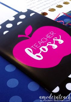 Taking Notes has never been so fun! Teacher Boss Notebook; $ Teacher Gift; Teammate Gift; Teacher Friends