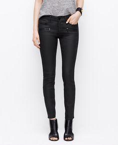 Image of Modern Coated Super Skinny Jeans