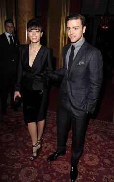Jessica Biel with Justin Timberlake 2013