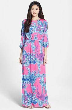 Lilly Pulitzer® 'Ashlynn' Print Jersey Maxi Dress