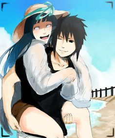 Picture Perfect by Elcii on deviantART I don't ship hinata and sasuke, this is just a really cute picture and it's drawn so well