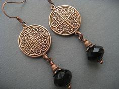 Celtic+Earrings++Celtic+Jewelry++Medieval+by+SilverTrumpetJewelry,+$20.00