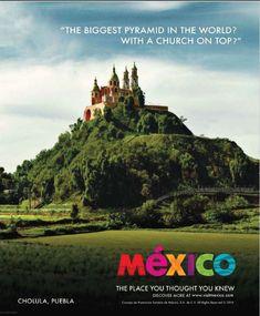 Cholula, Puebla. México.