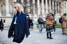 Street Style: Spring 2015 Couture - Vogue