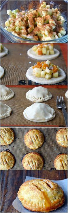 Salted Caramel Apple Hand Pies Recipe ~ Focuseat