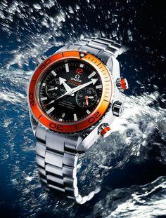 Omega Seamaster Planet Ocean Chronograph - Orange Version
