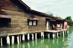 Chew Jetty. Penang. Heritage.