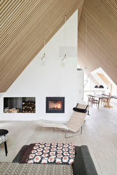 Guide Ud med de hvide vægge - her er boligtendenserne i 2016 Interior Styling, Interior Decorating, Interior Design, Roof Design, House Design, Interior Architecture, Interior And Exterior, Cheap Office Decor, Loft
