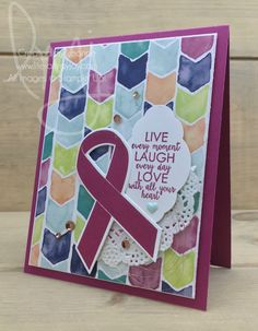 Live Laugh Love | Stampin\' Up! | Ribbon of Courage #literallymyjoy #LiveLaughLove #ribbon #BerryBurst #copper #NaturallyEclecticDSP #20172018AnnualCatalog